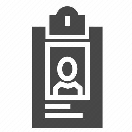 business, card, id, id card icon