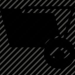 eye, folder, look, spy, view icon