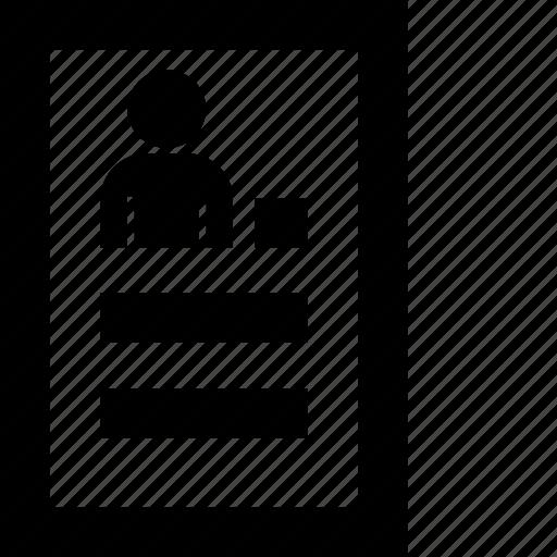 abstract, conspectus, resume, summary, summation, summing-up icon