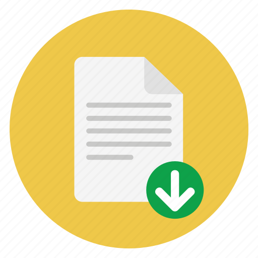 Document, documents, download, file, format, paper icon - Download on Iconfinder