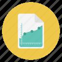 analytics, chart, charts, file, graph, paper