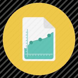 analytics, charts icon