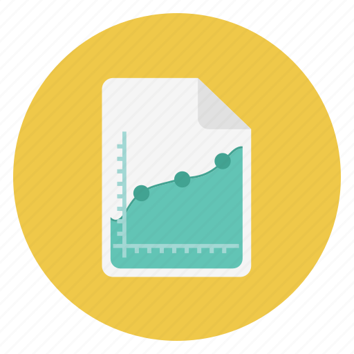 analytics, charts icon