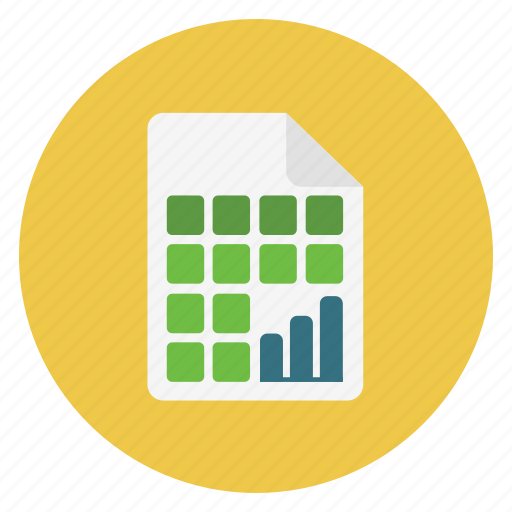 Analytics, chart, file, graph, paper, statistics icon - Download on Iconfinder