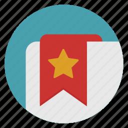 bookmarks, mark, tag icon