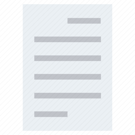 document, document list, file, page, paper, text icon