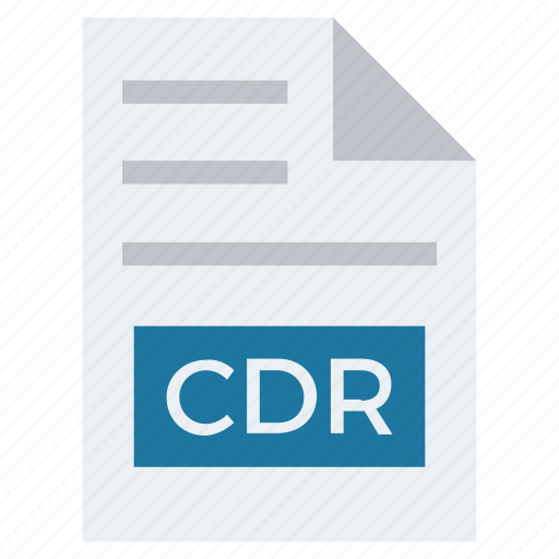 Cdr, document, document list, extension, file, format, page icon - Download on Iconfinder