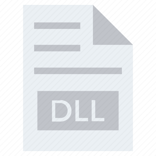 Dll, document, document list, extension, file, format, page icon - Download on Iconfinder