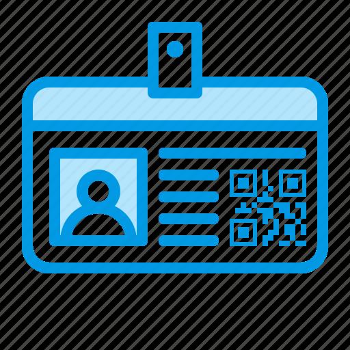 card, code, id, qr icon