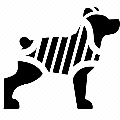 animal, care, cat, clothes, dog, pet icon