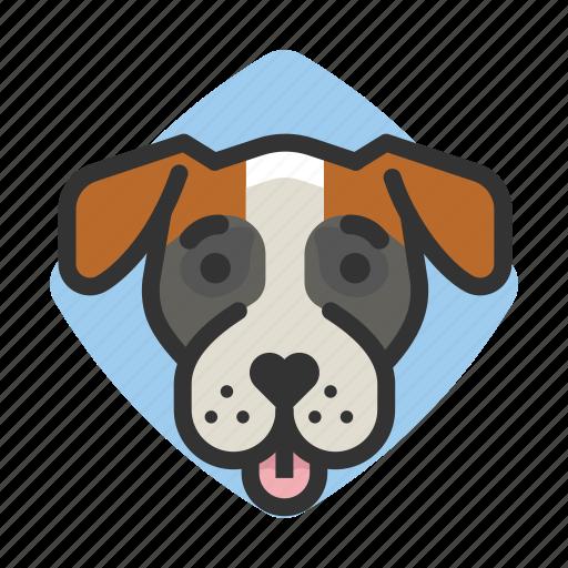 avatars, boxer, dogs, goofy icon