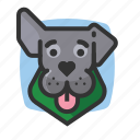 ears, bandana, dogs, avatars