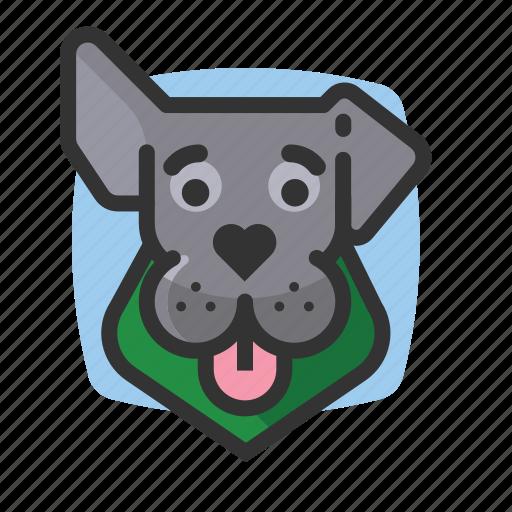 avatars, bandana, dogs, ears icon