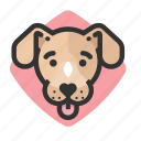 dogs, mutt, avatars, puppy icon