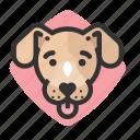 avatars, dogs, mutt, puppy icon