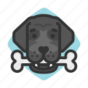 dogs, bone, avatars, newfoundland