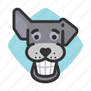 goofy, teeth, dogs, smile, avatars