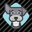avatars, dogs, goofy, smile, teeth icon