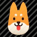 breed, dog, inu, japan, pedigree, pet, shiba inu icon