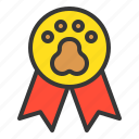 award, badge, dog, pedigree