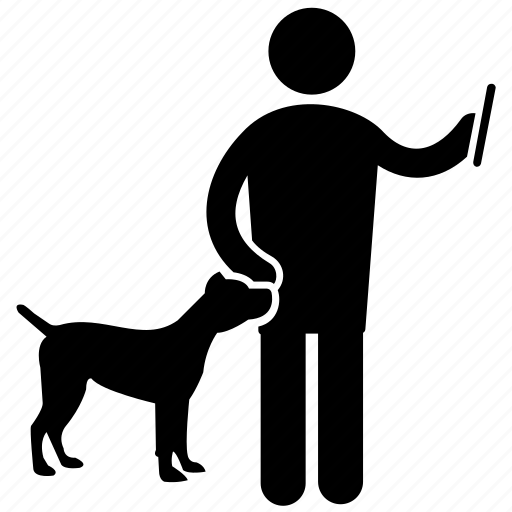 dog trainer, dog training, obedience training, pet trainer, pet training icon