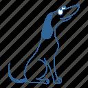 animal, dachshund, dog, friend, pet, puppy, seat icon