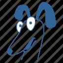 animal, dachshund, dog, friend, pet, puppy, surprise icon