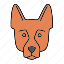 alsatian, breed, dog, german, pet, puppy, shepherd icon