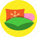 fresh, house, pillow, sleep icon