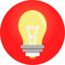 bulb, electric, lamp, light icon