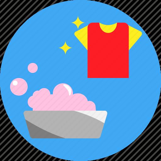 bubble, cloth, detergent, fresh, laundry, soap icon