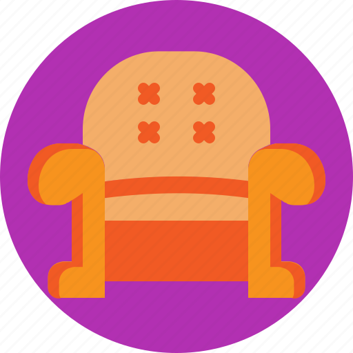 couch, house, interior, relax, sit, sofa icon