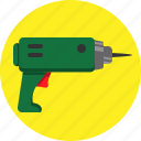 diy, drill, hardware icon