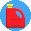 bleach, gasoline, jerrycan icon