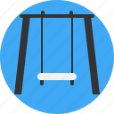 house, play, playground, swing icon
