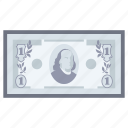 cash, currency, dollar, money, payment icon