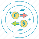 dollar, money, payment icon