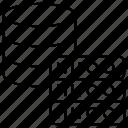 data, database, domain, hosting, rack servers, storage icon