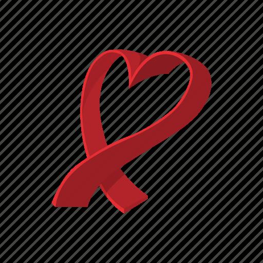 Breast Cancer Cartoon Charity Heart Medical Ribbon Icon Icon