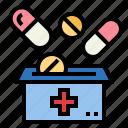 medicine, donation, pills, healthcare, medical