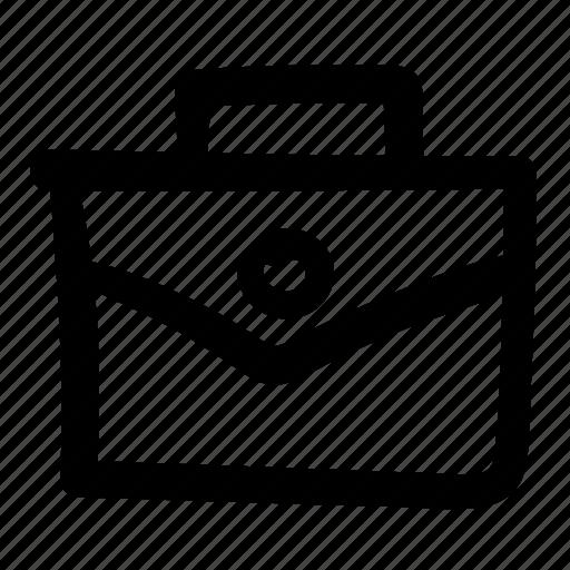 bag, briefcase, business, business bag, doodle, finance, portfolio icon