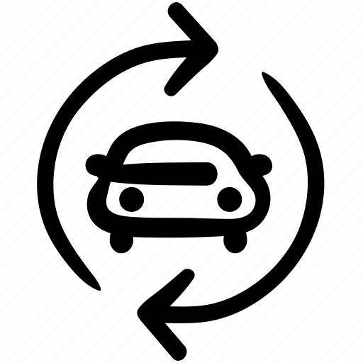 business, doodle, finance, refinancing car, repair, vehicle icon