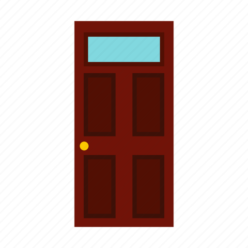 close, door, doorway, entrance, exit, wood, wooden icon