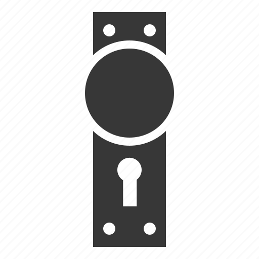 decoration, door, household, interior, knob, window icon