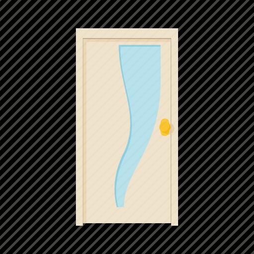 cartoon, door, doorway, entrance, house, interior, office icon