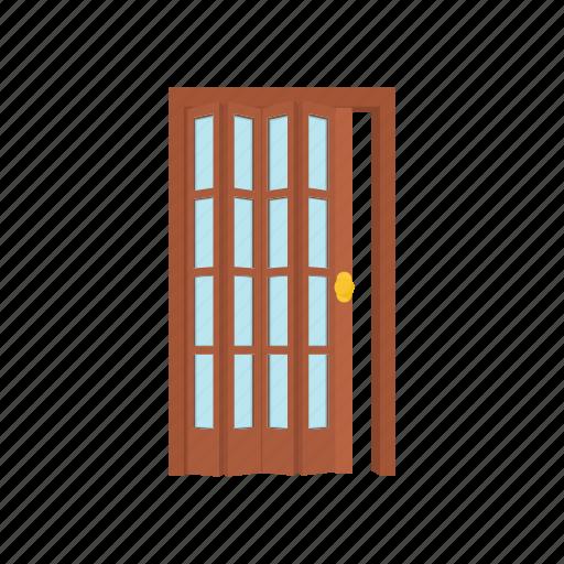 cartoon, door, doorway, entrance, home, house, interior icon