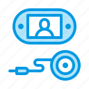 camera, door, eye, peephole icon