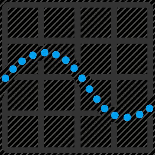 analysis, analytics, chart, charts, function, graph, plot icon
