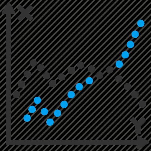 analysis, analytics, charts, diagram, functions, graphs, plot icon