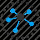 diagram, links, graph, nodes, relations
